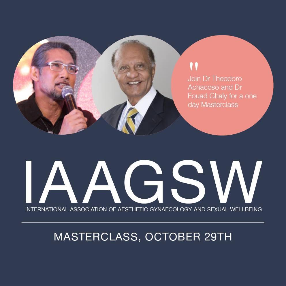IAAGSW 2018 Masterclass